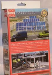 Busch 01573 Solar carport with charging station - reduced further